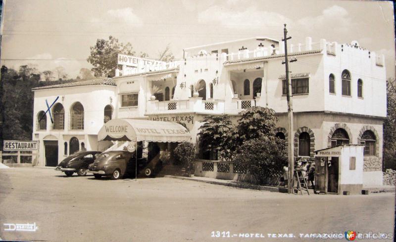 HOTEL TEXAS PANORAMA Hacia 1945