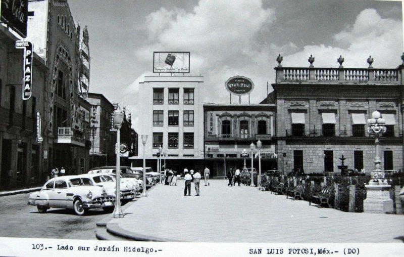 PANORAMA DEL JARDIN HIDALGO Hacia 1945