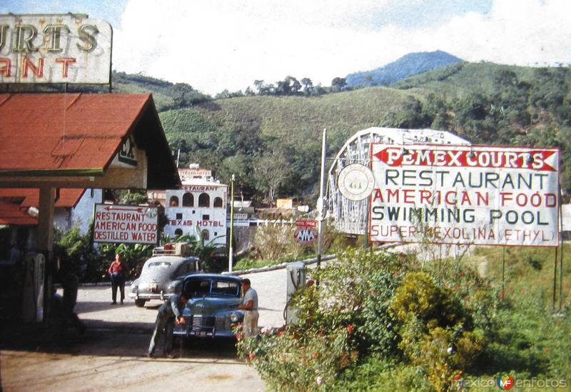 Fotos de Ciudad Valles, San Luis Potosí, México: ALREDEDORES PEMEX COURT Hacia 1950