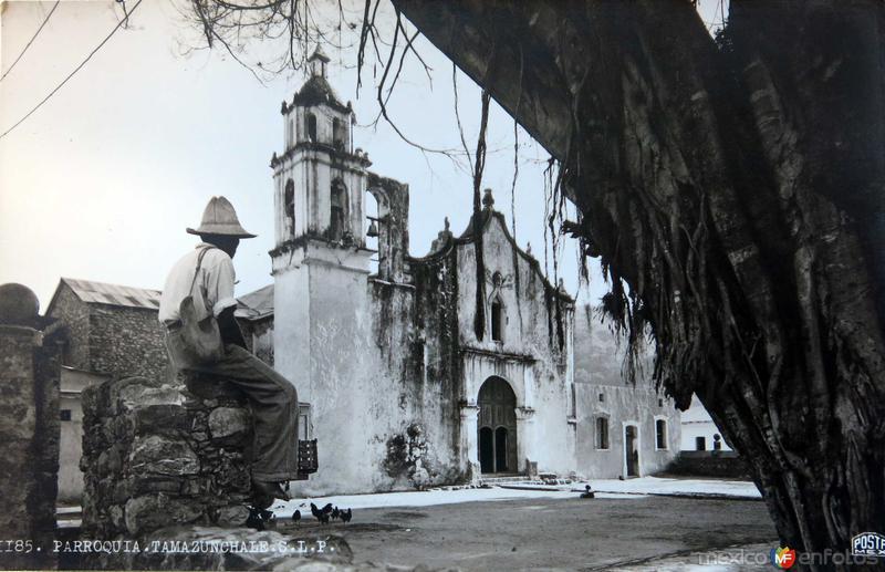 LA PARROQUIA PANORAMA Hacia 1945