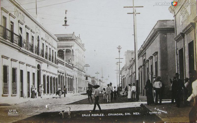 CALLE DE ROSALES Hacia 1922