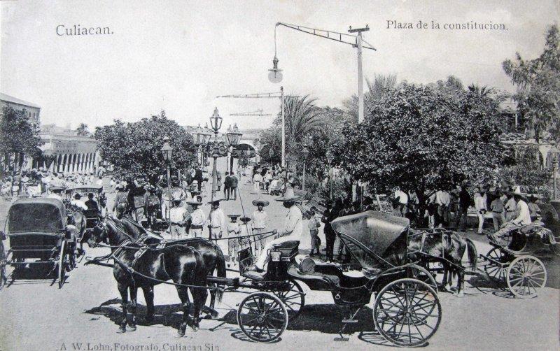Plaza de la Constitución (circa 1910)