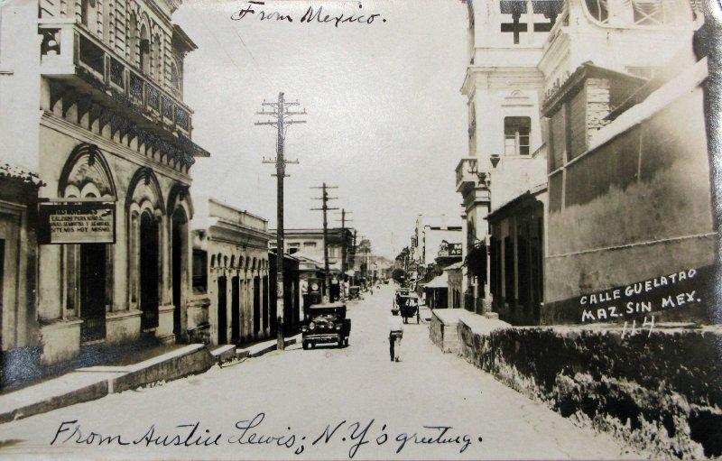 CALLE GUELATAO Hacia 1945