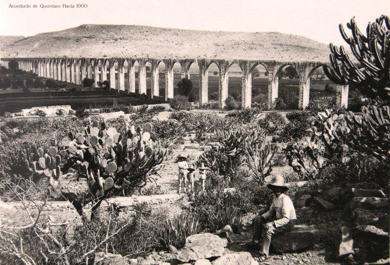 Acueducto de Queretaro Hacia 1900