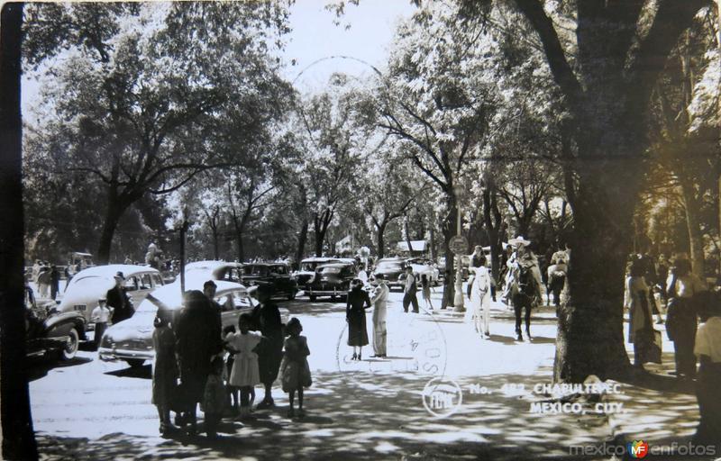 PARQUE DE CHAPULTEPEC Hacia 1945