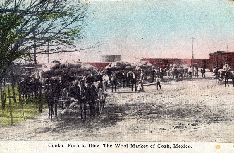 Mercado de lana