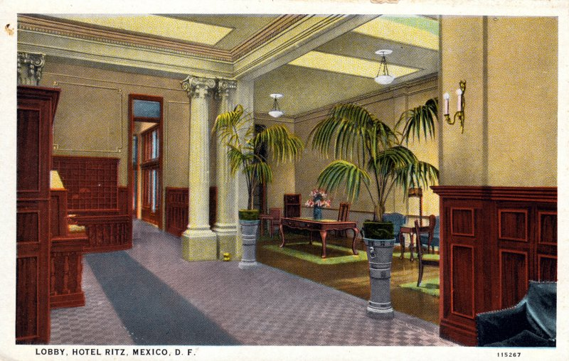 Loby del hotel Ritz