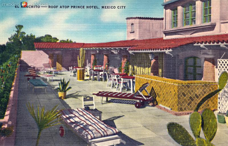 Techo del hotel Prince