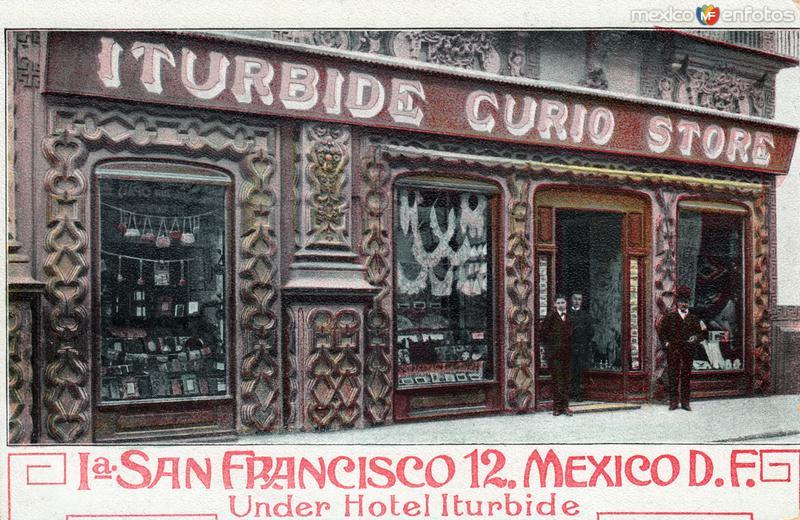 Iturbide Curio Store, en el Hotel Iturbide