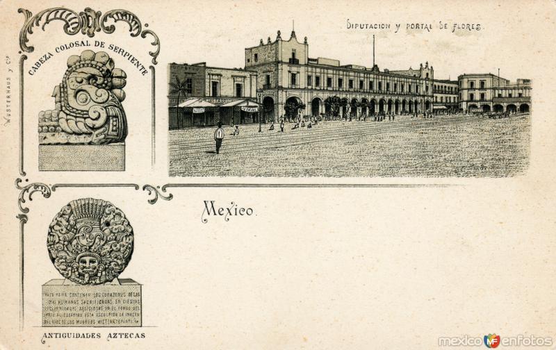 Diputación y Portal de Flores