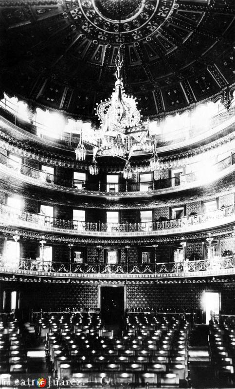 Interior del Teatro Juárez