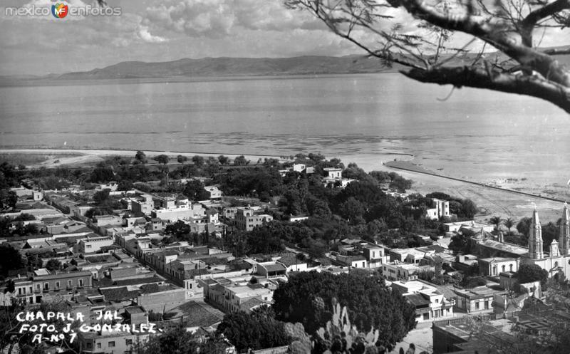 Vista panorámica de Chapala