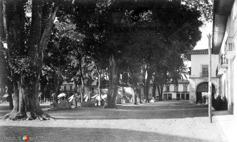 Plaza en Pátzcuaro