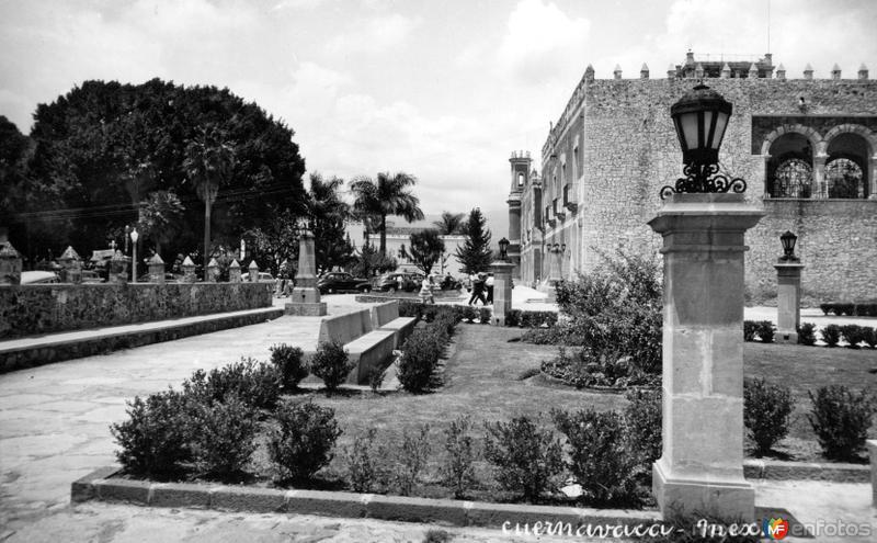 Frente del Palacio de Cortés