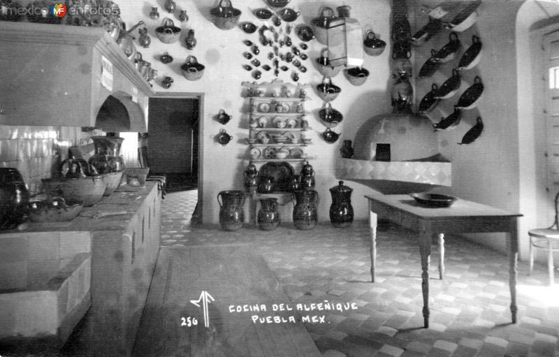 Cocina de la Casa del Alfeñique