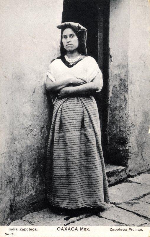 Mujer zapoteca
