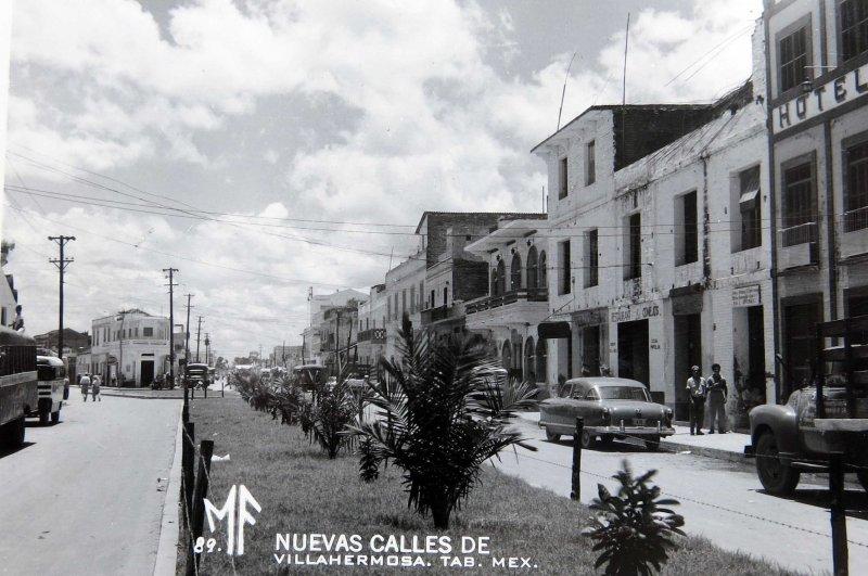 PANORAMA NUEVAS CALLES Hacia 1945