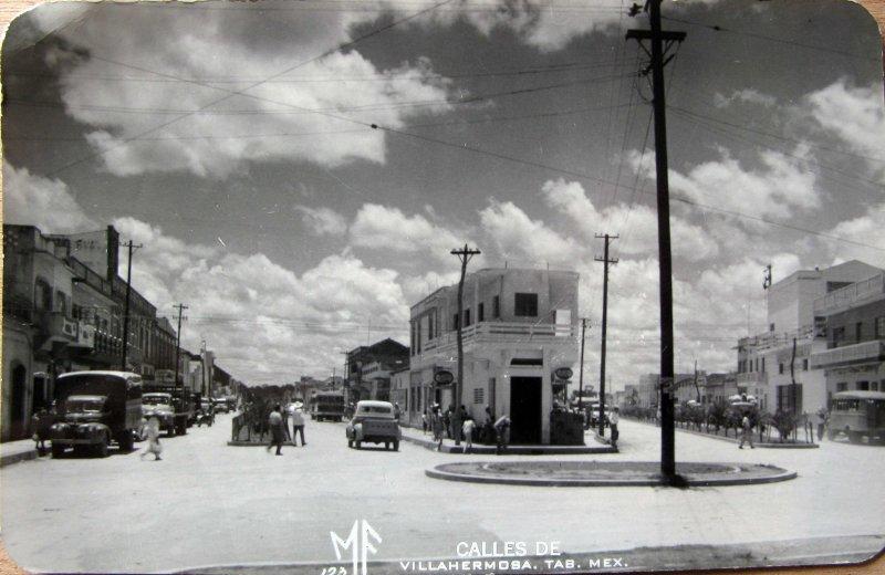 PANORAMA CALLES Hacia 1945