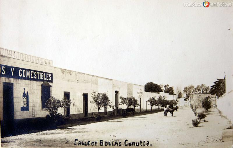 Calle de Bollas Hacia 1930