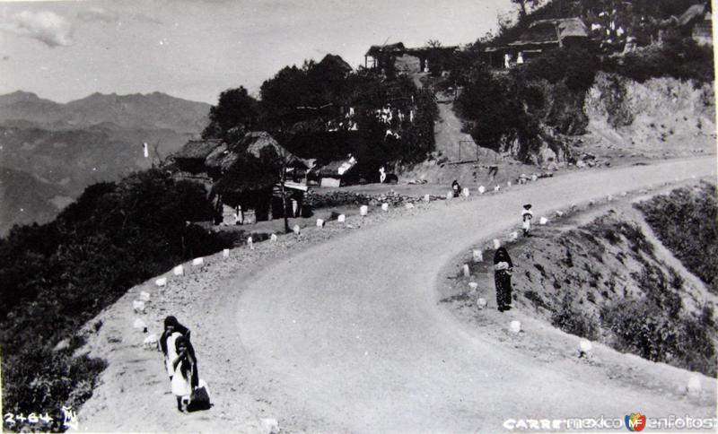 Fotos de Nuevo Laredo, Tamaulipas, México: PANORAMA CARRETERA LAREDO-MEXICO Hacia 1945