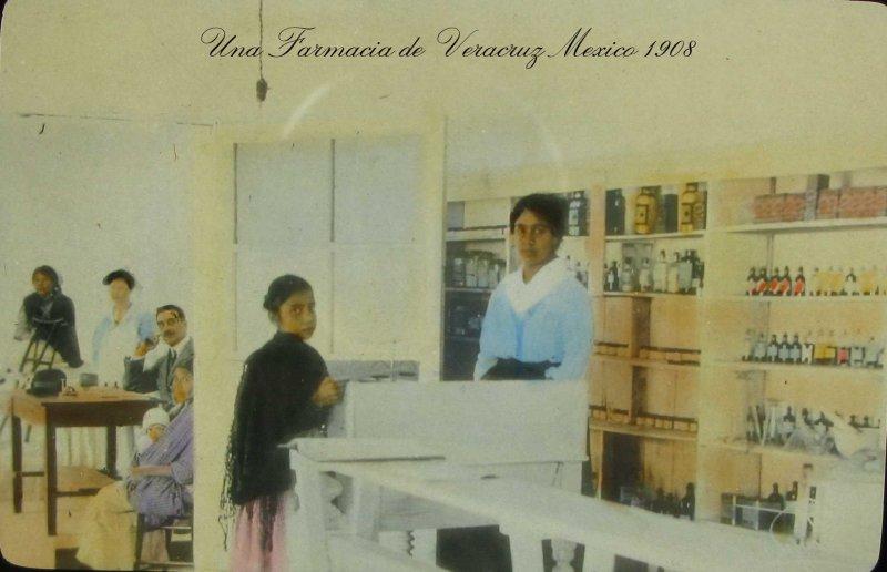 Fotos de Veracruz, Veracruz, México: UNA FARMACIA Hacia 1909