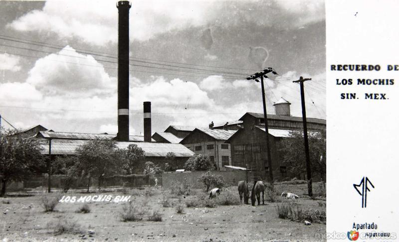 Fotos de Los Mochis, Sinaloa, México: UN INGENIO AZUZARERO RECUERDO Hacia 1945