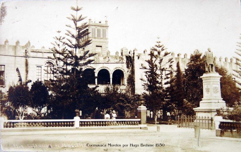 PALACIO DE CORTES Por Hugo Brehme Hacia 1930