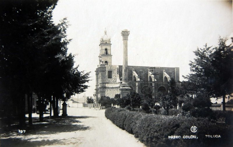 PASEO COLON Circa 1930-1950