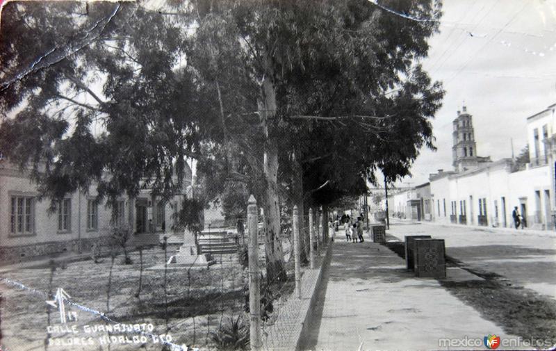 CALLE GUANAJUATO Circa 1930-1950