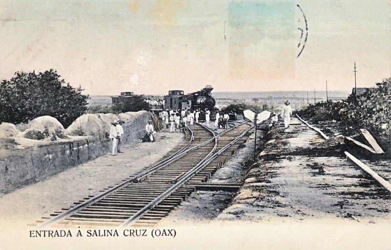 Entrada a Salina Cruz