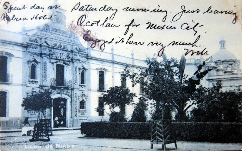 LICEO DE NIÑAS 1908