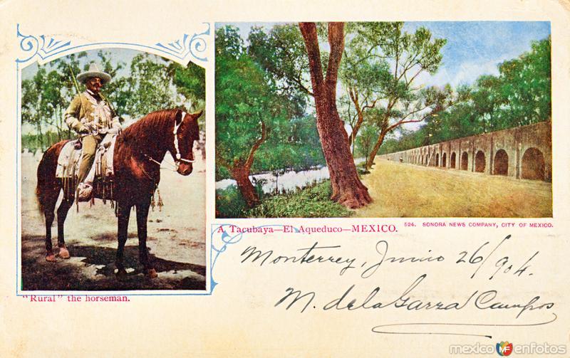 Al acueducto de Tacubaya