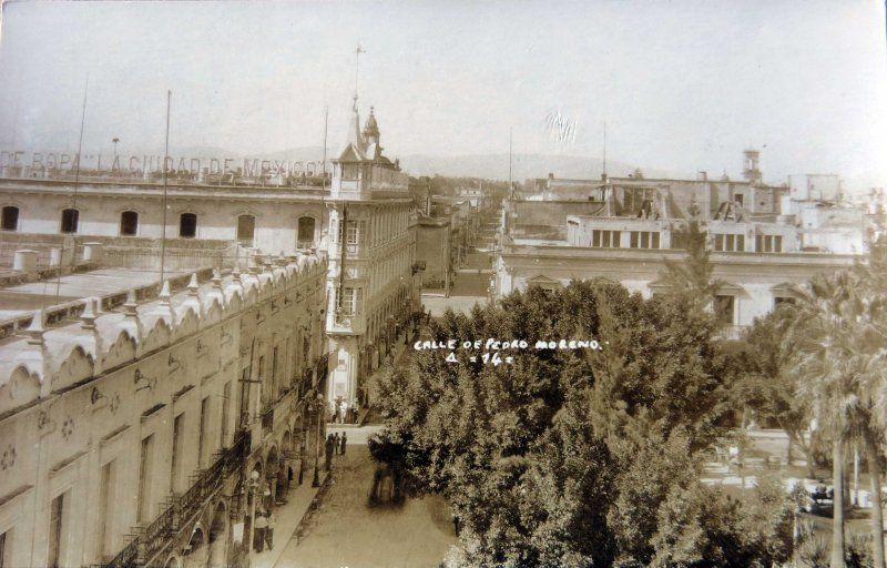 CALLE PEDRO MORENO Circa 1930-1950