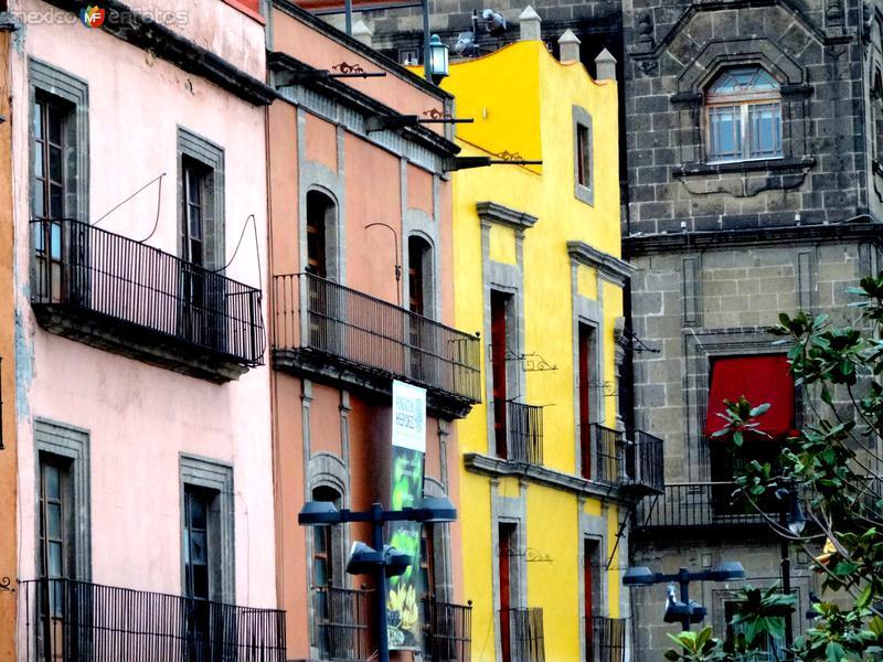 Fachadas del Centro Histórico de la Ciudad de México