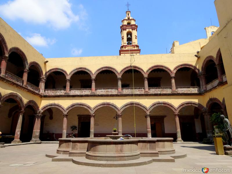 Iglesia de San Bernardino de Siena, en Xochimilco