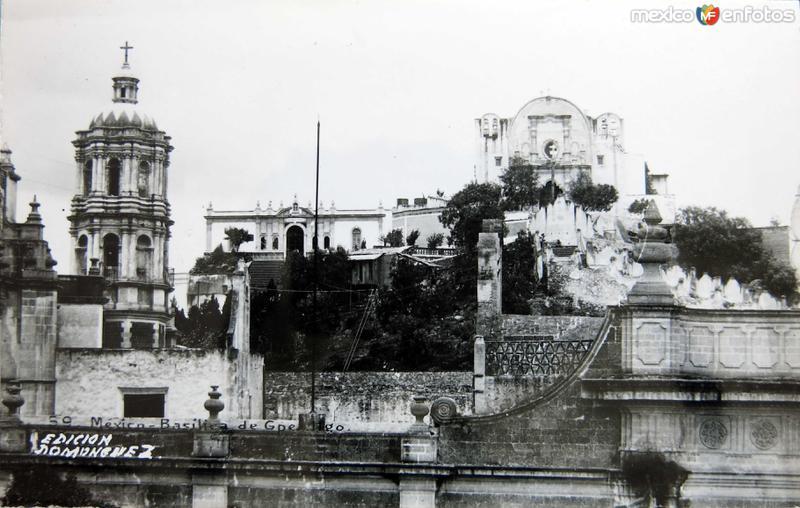 VILLA DE GUADALUPE Y CAPILLA DEL TEPEYAC Circa 1930-1950