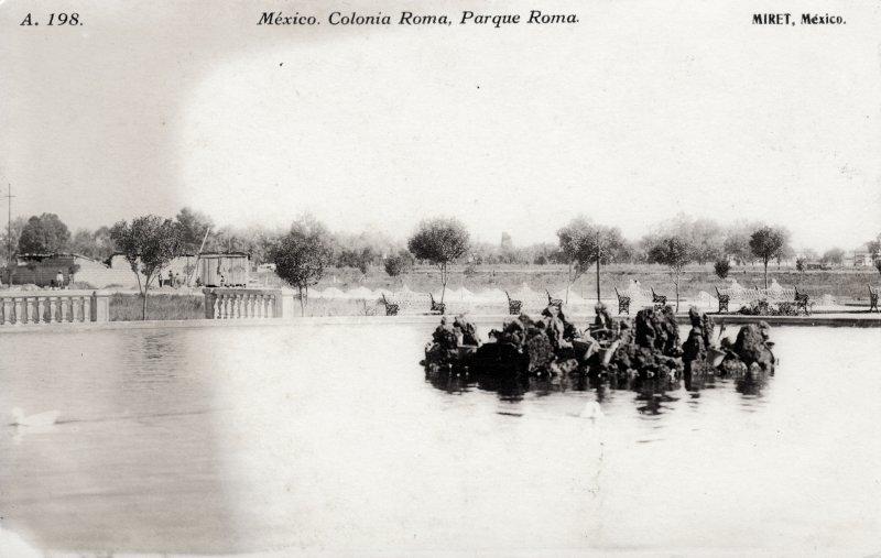 Parque Roma, en la Colonia Roma