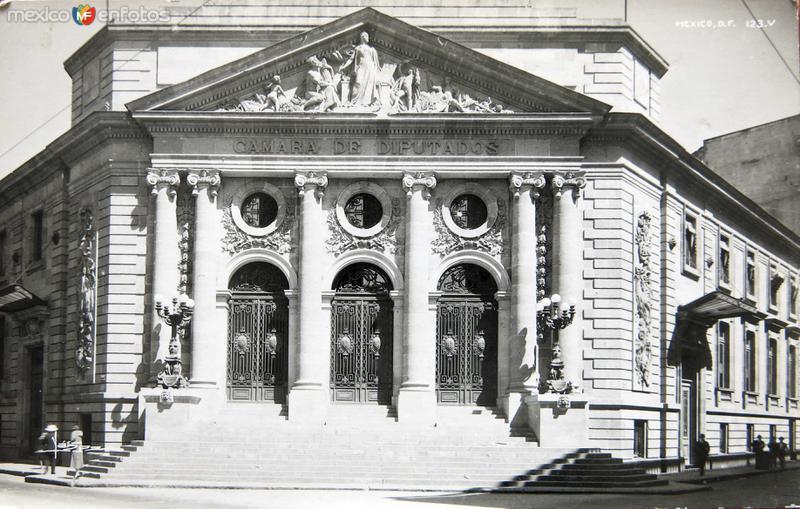 CAMARA DE DIPUTADOS Circa 1930-1950
