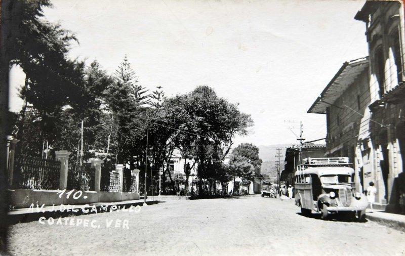 Fotos de Coatepec, Veracruz, México: AVE. J DEL CAMPILLO Circa 1930-1950