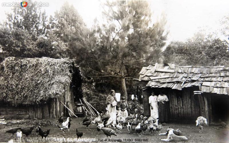 MI RANCHITO Por el fotografo HUGO BREHMECirca 1920-1930
