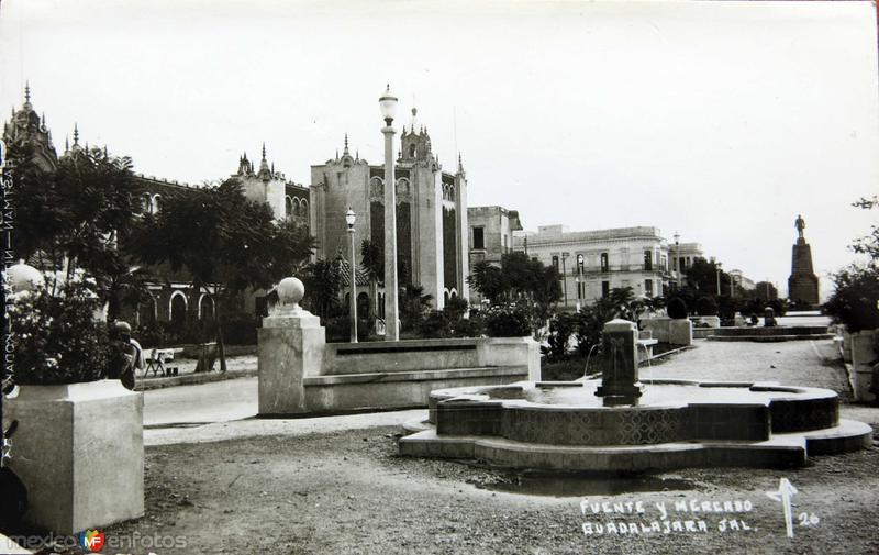 FUENTE Y MERCADO circa 1930-1950
