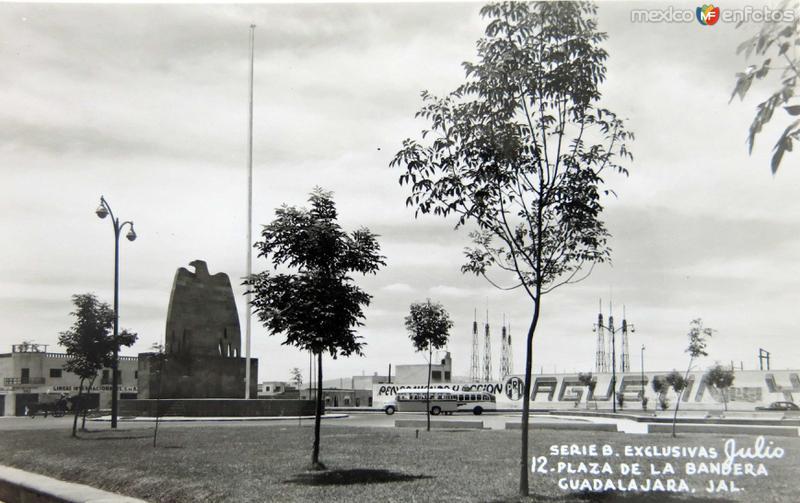 Plaza de la Bandera circa 1930-1950