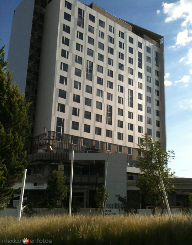 Hotel Fiesta Americana Angelópolis (En construcción). Julio/2015