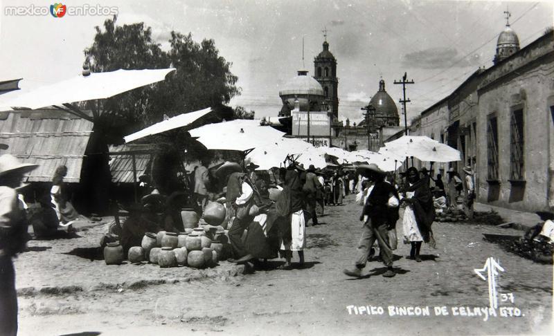 TIPICO RINCON Hacia 1930-1950