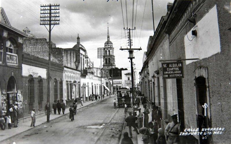 CALLE GUERRERO Hacia 1930-1950