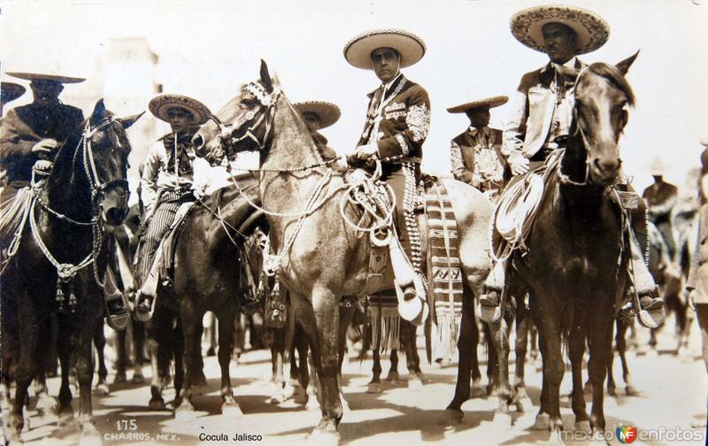 Fotos de , , México: Tipos mexicanos LOS CHARROS Circa 1930-1950