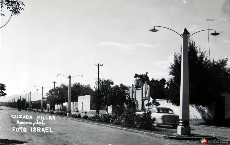 CALZADA MILLAN Circa 1930-1950
