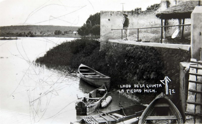 LAGO DE LA QUINTA circa 1930-1950