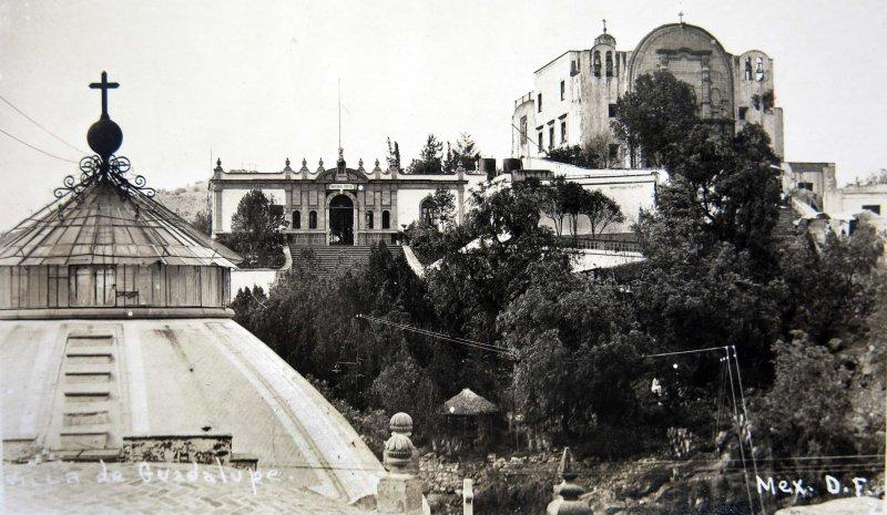 VILLA DE GUADALUPE PANTEON Y CAPILLA hacia 1900-1920
