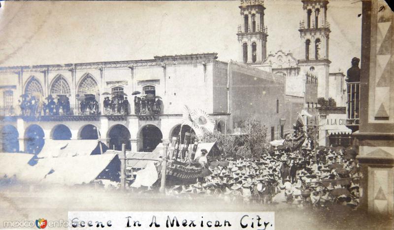 Iglesia y pueblo 1950-1965